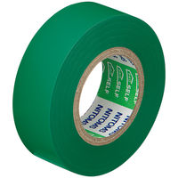 ニトムズ ビニルテープS 緑 19mm×10m巻 J2573 1箱(10巻入)