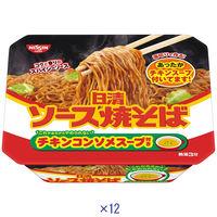 日清食品 日清ソース焼そばカップ 1箱(12食入)