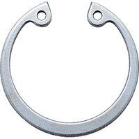 トラスコ中山(TRUSCO) スナップリング穴用 ステンレス 呼び径R-18 (12個入) B91-0018 1パック(12個) 161-0589 (直送品)