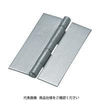 トラスコ中山(TRUSCO) ステンレス製厚口溶接蝶番 全長102mm (2個入) ST-888W-102HL 1袋(2個) 233-5727 (直送品)