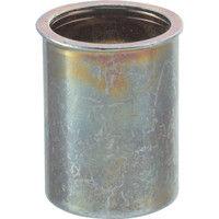 トラスコ中山 TRUSCO クリンプナット薄頭スチール 板厚1.5 M4X0.7 1000入 TBNF4M25SC  302ー1394 (直送品)