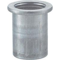 トラスコ中山 TRUSCO クリンプナット平頭アルミ 板厚2.5 M4X0.7 34入 TBN4M25A 257ー4519 (直送品)