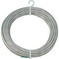 トラスコ中山(TRUSCO) ステンレスワイヤロープ Φ4.0mmX20m CWS-4S20 1本 213-4845 (直送品)