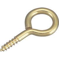 トラスコ中山(TRUSCO) 真鍮ヒートン#4 40本入 THT-B4 1パック(40本) 275-7265 (直送品)