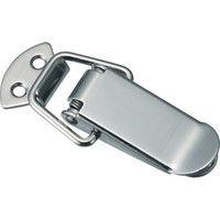 トラスコ中山(TRUSCO) パッチン錠 標準タイプ・ステンレス製 (4個入) P-20FSUS 1パック(4個) 232-8241 (直送品)