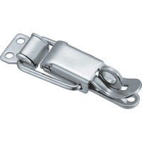 トラスコ中山(TRUSCO) パッチン錠 鍵穴付タイプ・スチール製 (2個入) P-93 1パック(2個) 232-8046 (直送品)