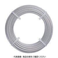 トラスコ中山 TRUSCO ステンレスワイヤロープ Φ1.5mmX5m CWS15S5 1巻 213ー4535 (直送品)