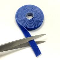 クラレリビング マジックテープ 幅10mm×長さ1.5m 青 1巻