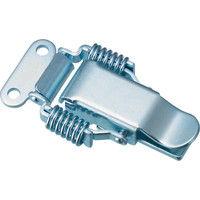トラスコ中山(TRUSCO) パッチン錠 ばねタイプ・スチール製 (2個入) P-30 1パック(2個) 232-8259 (直送品)