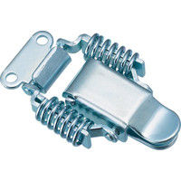 トラスコ中山 TRUSCO パッチン錠 ばねタイプ・スチール製 P31 1セット(4個:4個入×1パック) 232ー8216 (直送品)