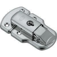 トラスコ中山 TRUSCO パッチン錠 鍵付タイプ・スチール製 L11 1セット(2個:2個入×1パック) 232ー9140 (直送品)