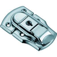トラスコ中山(TRUSCO) パッチン錠 鍵付タイプ・スチール製 (2個入) L-12 1パック(2個) 232-9158 (直送品)