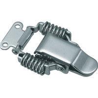 トラスコ中山(TRUSCO) パッチン錠 ばねタイプ・ステンレス製 (4個入) P-31SUS 1パック(4個) 232-8224 (直送品)