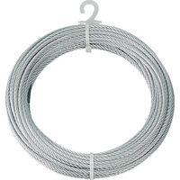 トラスコ中山(TRUSCO) メッキ付ワイヤーロープ Φ4mmX20m CWM-4S20 1本 213-4632 (直送品)