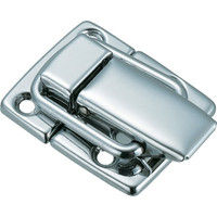 トラスコ中山 TRUSCO パッチン錠 横ズレ防止タイプ・スチール製 P39 1セット(4個:4個入×1パック) 232ー8615 (直送品)