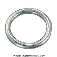 トラスコ中山(TRUSCO) 丸リンク ステンレス製 2.5mm 2個入 TMR-2.5-20 1袋(2個) 274-9955 (直送品)
