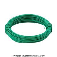 トラスコ中山(TRUSCO) カラー針金 小巻タイプ・18番手 緑 線径1.2mm TCWS-12GN 1巻 282-5236 (直送品)