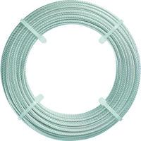 トラスコ中山(TRUSCO) ステンレスワイヤロープ Φ2.0mmX20m CWS-2S20 1本 213-4586 (直送品)