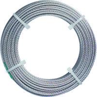 トラスコ中山 TRUSCO ステンレスワイヤロープ ナイロン被覆 Φ1.5(2.0)X20m CWC15S20 1巻 213ー4764 (直送品)
