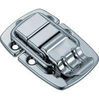 トラスコ中山 TRUSCO パッチン錠 横ズレ防止タイプ・スチール製 P16 1セット(2個:2個入×1パック) 232ー9247 (直送品)