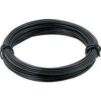 トラスコ中山 TRUSCO カラー針金 小巻タイプ・20番手 黒 線径0.9mm TCWS09BK 1巻 282ー5481 (直送品)