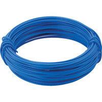 トラスコ中山 TRUSCO カラー針金 小巻タイプ・20番手 青 線径0.9mm TCWS09B 1巻 282ー5228 (直送品)