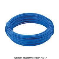 トラスコ中山 TRUSCO カラー針金 小巻タイプ・18番手 青 線径1.2mm TCWS12B 1巻 282ー5252 (直送品)