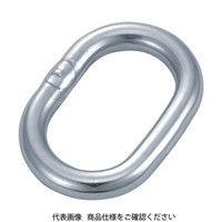 トラスコ中山(TRUSCO) 楕円リンク ステンレス製 4mm 2個入 TOL-4 1袋(2個) 300-9301 (直送品)