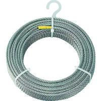 トラスコ中山 TRUSCO ステンレスワイヤロープ Φ6.0mmX30m CWS6S30 1巻 213ー4888 (直送品)