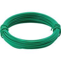 トラスコ中山 TRUSCO カラー針金 小巻タイプ・20番手 緑 線径0.9mm TCWS09GN 1巻 282ー5244 (直送品)