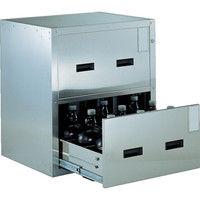 トラスコ中山 TRUSCO 耐震薬品庫 705X600XH800 2段引出型 SYW2 1台 511ー5621 (直送品)