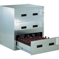 トラスコ中山 TRUSCO 耐震薬品庫 705X600XH800 3段引出型 SYW3 1台 511ー5639 (直送品)