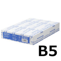 コピー用紙 マルチペーパー スーパーエコノミーJ B5 1冊(500枚入) 国内生産品 アスクル