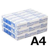 コピー用紙 マルチペーパー スーパーエコノミーJ A4 1セット(1500枚:500枚入×3冊) 国内生産品 アスクル