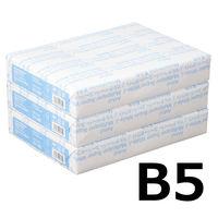 コピー用紙 マルチペーパー スーパーホワイトJ B5 1セット(1500枚:500枚入×3冊) 高白色 国内生産品 アスクル