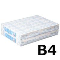 コピー用紙 マルチペーパー スーパーホワイトJ B4 1セット(1000枚:500枚入×2冊) 高白色 国内生産品 アスクル