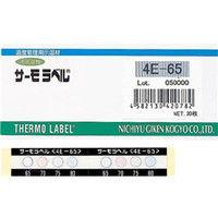 日油技研工業 ニチユ サーモラベル4点表示屋外対応型 不可逆性50度 4E50 1セット(1ケース:20枚入×1) 308ー3411 (直送品)