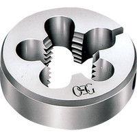 オーエスジー OSG ねじ切り丸ダイス 38径 M12X1.5 RD38M12X1.5 1個 202ー2460 (直送品)