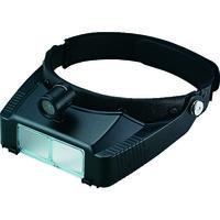 池田レンズ工業 LEDライトヘッドルーペ BM120LABD 1個 321-3129 (直送品)