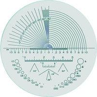 京葉光器 リーフ ガラススケール S-202 1個 219-6131 (直送品)