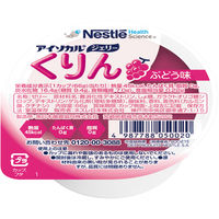 ネスレ日本 アイソカル ジェリーくりん ぶどう味 9402983 1箱(24個入) (取寄品)