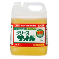 ライオンハイジーン 業務用油汚れ洗浄剤 グリースサットル GRSST5 1箱(2個入) (取寄品)