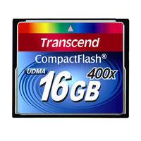 トランセンド コンパクトフラッシュ400倍速 16GB TS16GCF400 (取寄品)