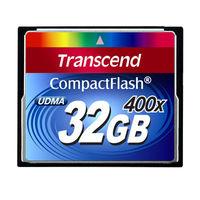 トランセンド コンパクトフラッシュ400倍速 32GB TS32GCF400 (取寄品)