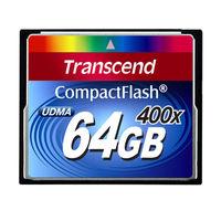トランセンド コンパクトフラッシュ400倍速 64GB TS64GCF400 (取寄品)