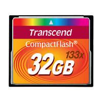 トランセンド コンパクトフラッシュ133倍速 32GB TS32GCF133 (取寄品)
