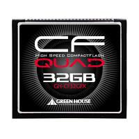 グリーンハウス UDMA5対応433倍速コンパクトフラッシュ32G GH-CF32GFX (取寄品)