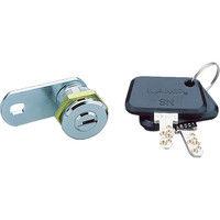 スガツネ工業 LAMP シリンダー錠SNー711ー8D(150ー060ー621) SN7118D 1セット 355ー9220 (直送品)