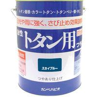 カンペハピオ(Kanpe Hapio) ALESCO カンペ 油性トタン用3Lスカイブルー 130-5993 1缶 361-0764 (直送品)