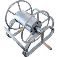 昭和ブリッジ販売 アルミ製ホース巻取機 MA-3B 1台 241-1440 (直送品)